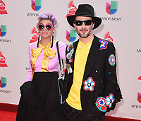 LAS VEGAS, NV - NOVEMBER 16:  Bomba Estereo at the 18th Annual Latin Grammy Awards at the MGM Grand Garden Arena on November 16, 2017 in Las Vegas, Nevada. (Photo by Scott Kirkland/PictureGroup)