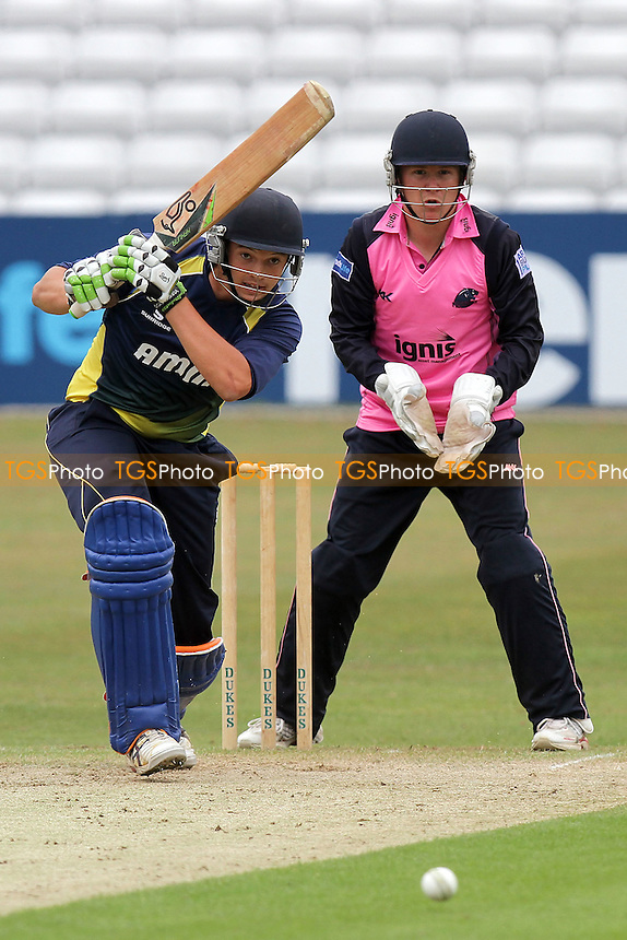 Nick Browne in batting action for Essex - Essex CCC 2nd XI vs Middlesex CCC 2nd XI - Second XI Twenty 20 Cricket at the Ford County Ground, Chelmsford - 06/06/11 - MANDATORY CREDIT: Gavin Ellis/TGSPHOTO - Self billing applies where appropriate - Tel: 0845 094 6026