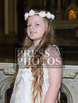 Daria McKenna who received her First Holy Communion in St. Peters Church. Photo:Colin Bell/pressphotos.ie