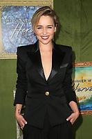 LOS ANGELES, CA - OCTOBER 4: Emilia Clarke at the Los Angeles Premiere of HBO Films&rsquo; My Dinner With Herve at Paramount Studios in Los Angeles, California on October 4, 2018 <br /> CAP/MPIFS<br /> &copy;MPIFS/Capital Pictures