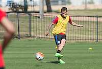 FRISCO, TX - March 26, 2016: The US Men's U-23 National team train in preparation for their Olympic Qualifying match versus Colombia at Toyota Soccer Center.