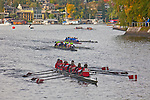 Rowing, Head of the Lake Regatta, November 2 2014, Seattle, Vancouver Rowing Club, crew, Women's B-C 8+, Washington State, Lake Washington Rowing Club, Lake Washington Ship Canal, Montlake Cut,