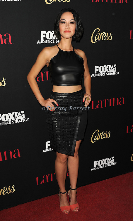 Jael Pardo arriving at the Latina Magazine Host Hollywood Hot List Party held at  The Sunset Tower Hotel Los Angeles, CA. October 2, 2014.