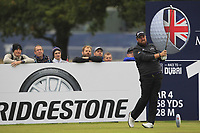 Shane Lowry (IRL) on the 13th tee during Round 1of the Sky Sports British Masters at Walton Heath Golf Club in Tadworth, Surrey, England on Thursday 11th Oct 2018.<br /> Picture:  Thos Caffrey | Golffile<br /> <br /> All photo usage must carry mandatory copyright credit (© Golffile | Thos Caffrey)