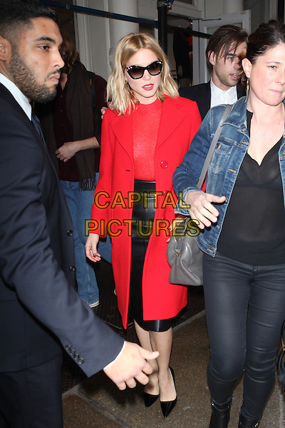 NEW YORK, NY - NOVEMBER 5: Lea Seydoux comes out of shopping at MIU MIU Soho in New York City on November 5, 2015. <br /> CAP/MPI/DC<br /> &copy;DC/MPI/Capital Pictures