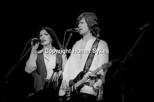 Rita Coolridge and Kris Kristofferson 1978 West Berlin Germany.