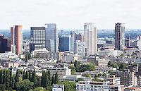 Nederland Rotterdam 2016 . Hoogbouw in het centrum van Rotterdam. Foto Berlinda van Dam / Hollandse Hoogte