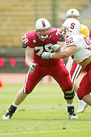 Jon Cochran during the Spring Game on April 26, 2003 at Stanford Stadium.<br />