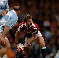 2005 British & Irish Lions vs Argentina, at The Millennium Stadium, Cardiff, WALES played on  23.05.2005, Chris Cusiter..Photo  Peter Spurrier. .email images@intersport-images...