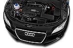 High angle engine detail of a 2011 - 2014 Audi TT S line 3 Door Coupe 4WD
