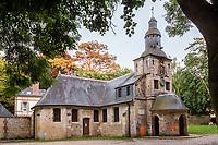 France, Calvados (14), Honfleur, chapelle Notre-Dame-de-Grâce // France, Calvados, Honfleur, Chapel of Notre-Dame-de-Grace