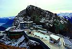 The Hotel Pilatus-Kulm on the 6,900 foot Esel peak of Mount Pilatus.