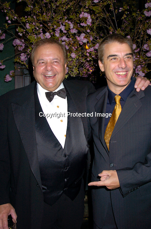 Paul Sorvino and Chris Noth ..at the National Arts Club which honored Paul Sorvino ..with their Medal of Honor on April 21, 2004 in New York City. Photo by Robin Platzer, Twin Images