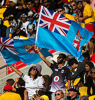 Fans during DAY 1 of the 2016 HSBC Wellington Sevens at Westpac Stadium, Wellington, New Zealand on Saturday, 30 January 2016. Photo: Joseph Johnson / lintottphoto.co.nz
