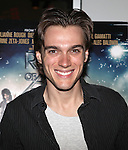 Broadway Star Justin Matthew Sargent.attending  a screening of 'Rock Of Ages' at the Regal E-Walk Stadium Theaters in New York City on June 11, 2012.