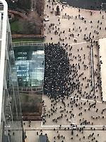 Canary Wharf DLR Strike - 28.03.2018