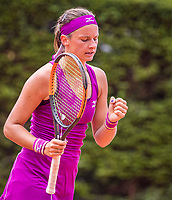 The Hague, Netherlands, 09 June, 2018, Tennis, Play-Offs Competition, Quirine Lemoine (NED)<br /> Photo: Henk Koster/tennisimages.com