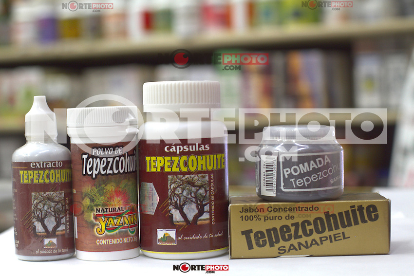 Tepezcohuite.
