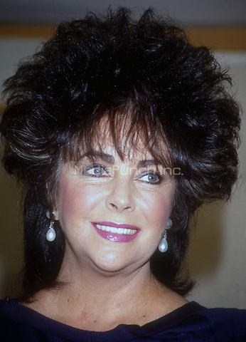 Elizabeth Taylor - Undated<br /> Photo By Adam Scull/PHOTOlink.net /MediaPunch