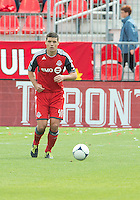 15 September 2012: Toronto FC defender Darren O'Dea #48 in action during an MLS game between the Philadelphia Union and Toronto FC at BMO Field in Toronto, Ontario..The game ended in a 1-1 draw..