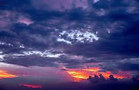 """""""Painted Sky"""" cloud formation during the Monsoon Season, Philippines"""