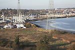 River Orwell, Ipswich docks and marina, Suffolk, England