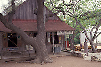 General Store and U.S. Post Office in Luckenbach, Texas