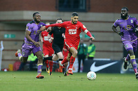 O's JObi McAnuff during Leyton Orient vs Maidenhead United, Vanarama National League Football at The Breyer Group Stadium on 16th February 2019