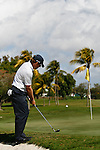 DORAL, FL. - Justin Leonard during final round play at the 2009 World Golf Championships CA Championship at Doral Golf Resort and Spa in Doral, FL. on March 15, 2009