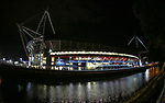 A general view of the Prinicipality Stadium at night during the Champions League Final match at the Principality Stadium, Cardiff. Picture date: June 3rd, 2017. Pic credit should read: David Klein/Sportimage