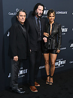 "15 May 2019 - Hollywood, California - Ian McShane, Keanu Reeves, Halle Berry. ""John Wick: Chapter 3 - Parabellum"" Special Screening Los Angeles held at the TCL Chinese Theatre. Photo Credit: Birdie Thompson/AdMedia"