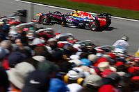 MONTREAL, CANADA, 09.06.2013 - F1 - GP DO CANADÁ - O piloto alemão Sebastian Vettel da equipe Red Bull durante o Grande Premio de Montreal de Formula 1, no Canadá neste domingo, 09. (Foto: Pixathlon / Brazil Photo Press).