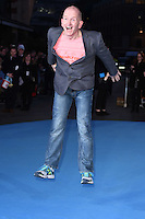 "Eddie the Eagle Edwards<br /> at the ""Eddie the Eagle"" European premiere, Odeon Leicester Square London<br /> <br /> <br /> ©Ash Knotek  D3099 17/03/2016"
