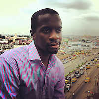 Femi Longe, co-founder of the Co-Creation Hub in Lagos, Nigeria.&lt;br/&gt;<br />