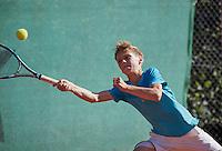 Hilversum, Netherlands, August 10, 2016, National Junior Championships, NJK, Thomas Verhoeven (NED)<br /> Photo: Tennisimages/Henk Koster