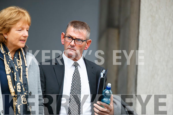 Michael O'Donoghue at Tralee Court on Wednesday.