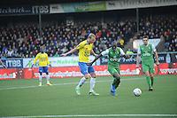 VOETBAL: CAMBUURSTADION: LEEUWARDEN: 03-11-2013, Cambuur-Feyenoord, uitslag 0- 2, Michiel Hemmen, ©foto Martin de Jong