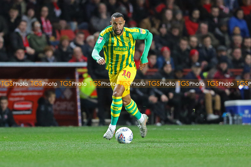 Matt Phillips of West Bromwich Albion during Charlton Athletic vs West Bromwich Albion, Sky Bet EFL Championship Football at The Valley on 11th January 2020