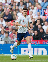 Harry Maguire (Manchester United) of England during the UEFA 2020 Euro Qualifier match between England and Bulgaria at Wembley Stadium, London, England on 7 September 2019. Photo by Andy Rowland.
