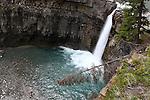 CRESCENT FALLS,DAVID THOMPSON COUNTRY, ALBERTA, CANADA