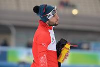 SCHAATSEN: AMSTERDAM: Olympisch Stadion, 11-03-2018, ISU World Allround Speed Skating, Coolste Baan van Nederland, Konrad Niedźwiedzki, ©foto Martin de Jong