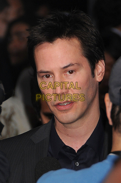 "KEANU REEVES.""Street Kings"" Los Angeles Premiere at Grauman's Chinese Theatre, Hollywood, California, USA..April 3rd, 2008.headshot portrait.CAP/ADM/BP.©Byron Purvis/AdMedia/Capital Pictures."