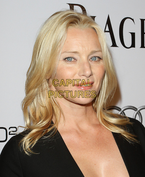ANGELA FEATHERSTONE.amfAR Inspiration Gala Los Angeles held at Chateau Marmont, Los Angeles, CA, USA..October 27th, 2010.headshot portrait black .CAP/ADM/KB.©Kevan Brooks/AdMedia/Capital Pictures.