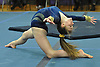 Jenna Plant of Massapequa performs her floor routine during a Nassau County varsity gymnastics meet against Plainview JFK at McKenna Elementary School on Monday, Feb. 1, 2016.