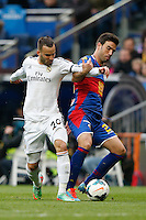 22.02.201a SPAIN -  La Liga 13/14 Matchday 25th  match played between Real Madrid CF vs Elche at Santiago Bernabeu stadium. The picture show Jese Rodriguez Ruiz (Spanish Forward of Real Madrid)