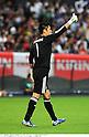 Eiji Kawashima (JPN),AUGUST 10, 2011 - Football / Soccer :Japan's goalkeeper Eiji Kawashima gives a thumbs up during the Kirin Challenge Cup 2011 match between Japan 3-0 South Korea at Sapporo Dome in Sapporo, Hokkaido, Japan. (Photo by Takamoto Tokuhara/AFLO)