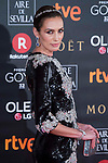 Nieves Alvarez attends red carpet of Goya Cinema Awards 2018 at Madrid Marriott Auditorium in Madrid , Spain. February 03, 2018. (ALTERPHOTOS/Borja B.Hojas)