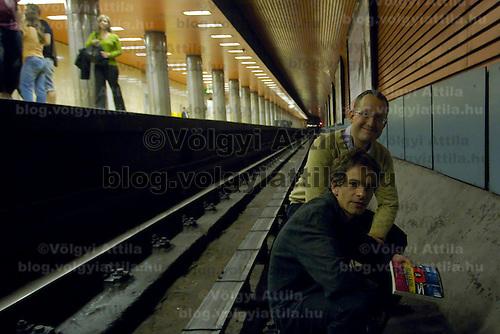 Visit to the Budapest underground system. Budapest, Hungary. Friday, 25. June 2010. ATTILA VOLGYI