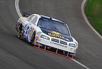 Oct. 11, 2009; Fontana, CA, USA; NASCAR Sprint Cup Series driver Reed Sorenson during the Pepsi 500 at Auto Club Speedway. Mandatory Credit: Mark J. Rebilas-