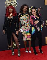 Sandra Pepa Denton + Cheryl Salt James + DJ Spinderella @ the 2016 MTV Movie Awards held @ the Warner studios.<br /> April 9, 2016
